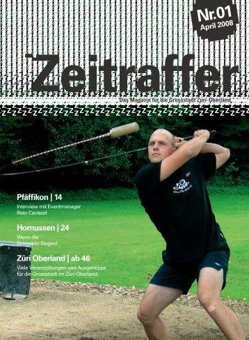 Nr. 01 April 2008 Das Magazin für die Grossstadt ... - easypictures.ch