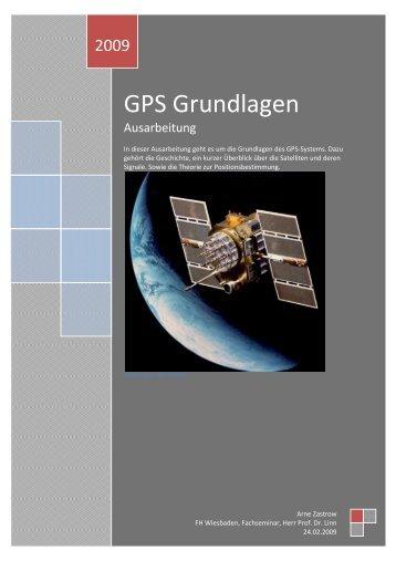 GPS Grundlagen - Allgemeine Informatik
