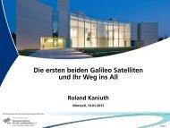 Die Galileo IOV Satelliten
