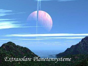 Extrasolare Planetensysteme