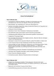 Unser Hochzeitsplaner - exclusive BERG collections GmbH