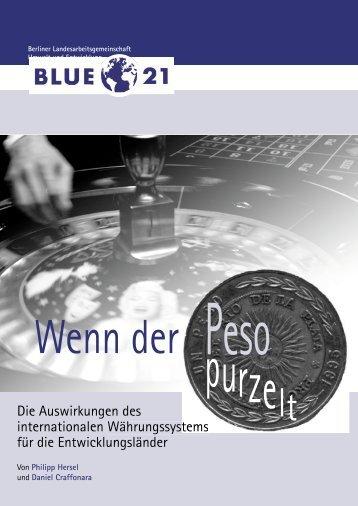 Wenn der Peso purzelt - Blue 21