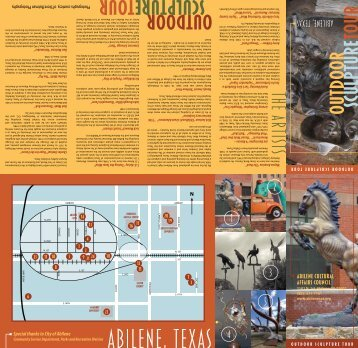Click here to download a PDF of the - Abilene Cultural Affairs Council