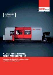 EMCO MAXXTURN 110 - Ilg & Sulzberger Werkzeugmaschinen