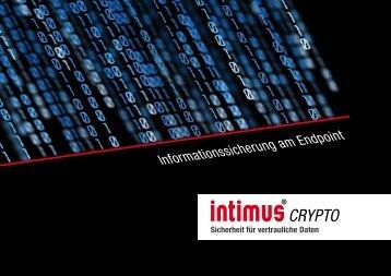 Informationssicherung am Endpoint - intimus