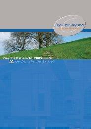 der Darmsheimer Bank eG Geschäftsbericht 2005