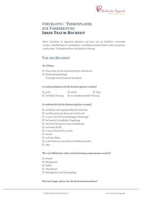 namensänderung checkliste