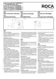 Instrucciones para el Montaje Grupo de seguridad ... - Flamco