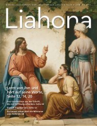 Januar 2011 Liahona - The Church of Jesus Christ of Latter-day Saints