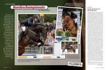 PDF (1.52 mb) - Pferd+Sport