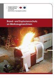 Brand- und Explosionsschutz an Werkzeugmaschinen - VKIS