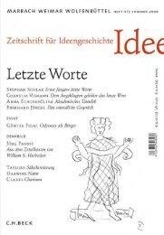 PDF-Datei - Zeitschrift für Ideengeschichte