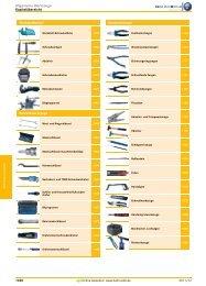Allgemeine Werkzeuge - EN / Hahn+Kolb