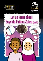 Sayyida Fatima Zahra Let us learn about - QFatima