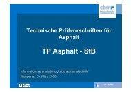 TP Asphalt - StB - FGSV