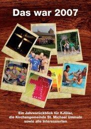 war 2007 Das war 2007 - KJG St. Michael, Ummeln
