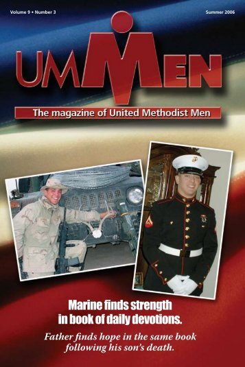 Marine finds strength in book of daily devotions. - United Methodist ...