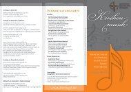 Kirchenmusik-Flyer - Evgl. Kirchenkreis Gütersloh