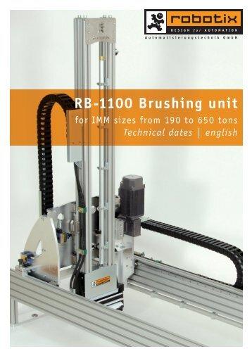 RB-1100 Brushing unit - Robotix