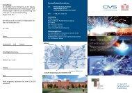 Tagung Neue fügetechnische Entwicklungen und Anwendungen in ...