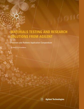 Application Compendium - Agilent Technologies