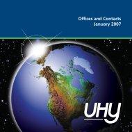 UHY Directory 2007 - UHY - VE
