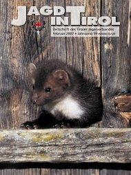 Jagd Februar 2007.indd - Tiroler Jägerverband