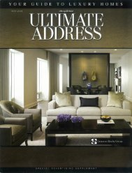 YOUR GUIDE TO LUXURY HOMES