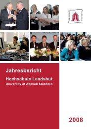 Jahresbericht - Fachhochschule Landshut