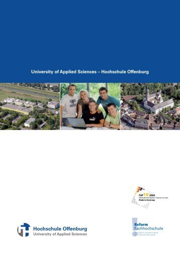 University of Applied Sciences – Hochschule Offenburg