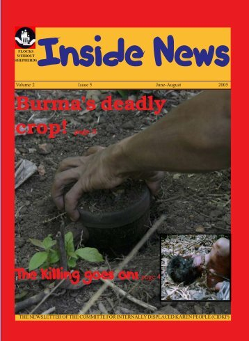 CIDKP NEWS-L- July 2005 - Online Burma Library