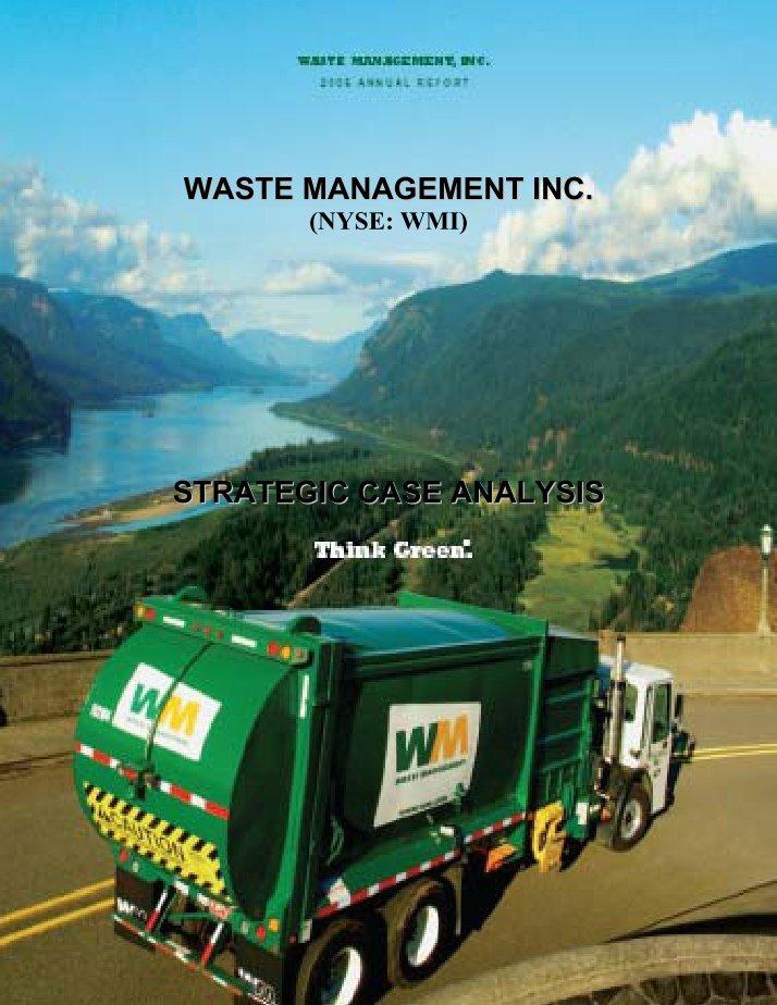 waste management inc manipulating accounting estimates Phar-mor, inc: accounting fraud, litigation, and auditor liability 25  16 waste management, inc: manipulating accounting estimates 145 17 xerox corporation.