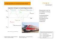 Rekuperation im Schienennahverkehr - Hochschule für angewandte ...