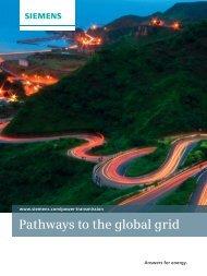 Pathways to the global grid - Siemens