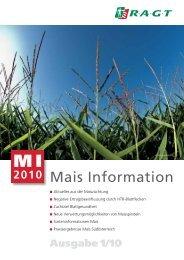 MI, Mais Information Ausgabe 1/2010 - RAGT Saaten Österreich