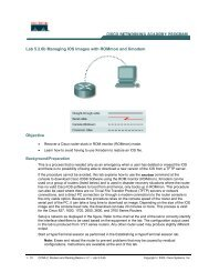 Router Interface Summary