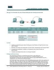 Übersicht der Router-Schnittstellen