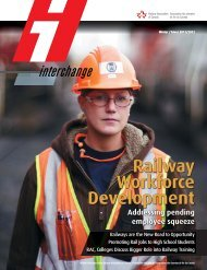To download Interchange magazine, click here (pdf 9 - Railway ...
