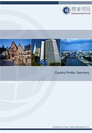 Country Profile: Germany - Commercial Trust Limited