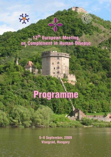 download the final program - CHD2009