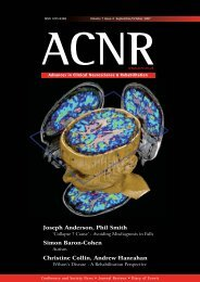 ACNRSO07:Layout 1 - Advances in Clinical Neuroscience and ...