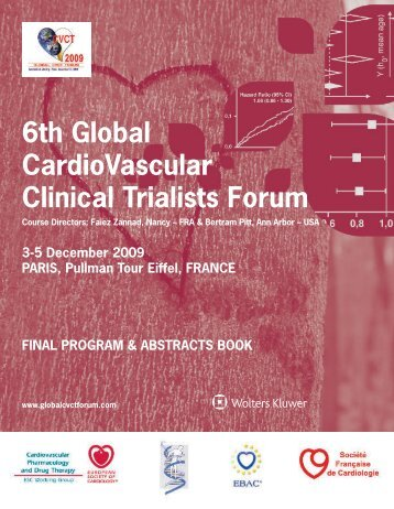 6th Global CardioVascular Clinical Trialists Forum - Overcome
