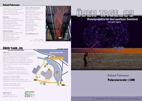 Polarsternrohr αUMi ÜBER TAGE_09 Kunstprojekte für das ...