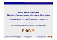 Master Research Program Electrical Engineering and Information ...