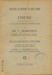 DR. f. 'HINRICHSEN .