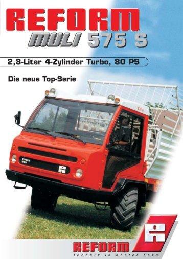 Muli 575S - Landtechnik Rietzler