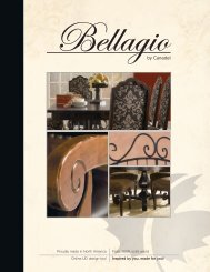 Bellagio Catalog - Canadel