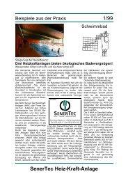 Hallenbad - Der DACHS. Die Kraft Wäremkopplung