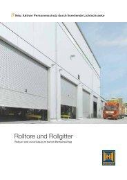 Rolltore und Rollgitter
