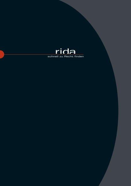 schnell zu Recht finden - Rida